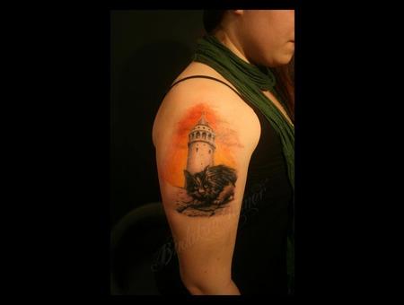 Arm Cat  Istanbul Tattoo Dövme Budakan  Color