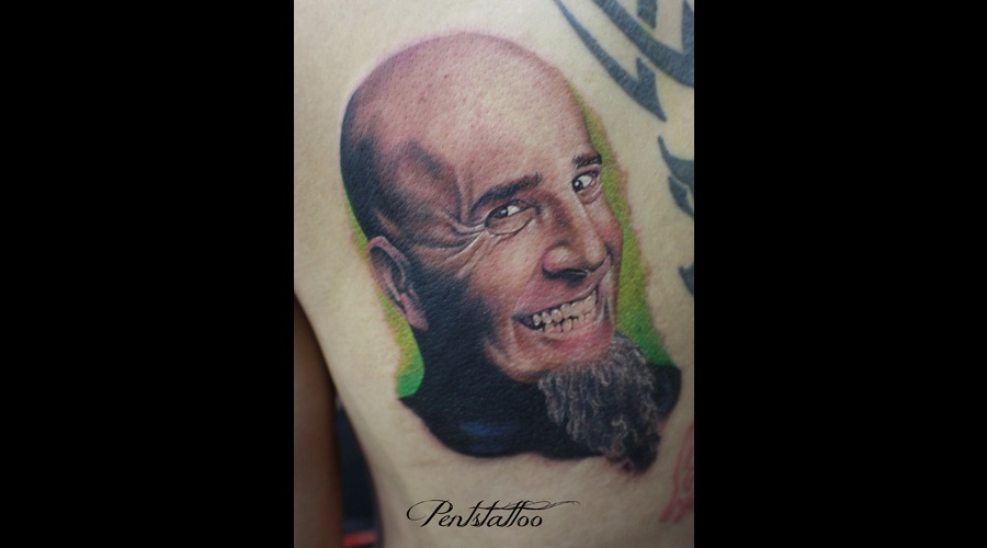 Scott Ian  Anthrax Color