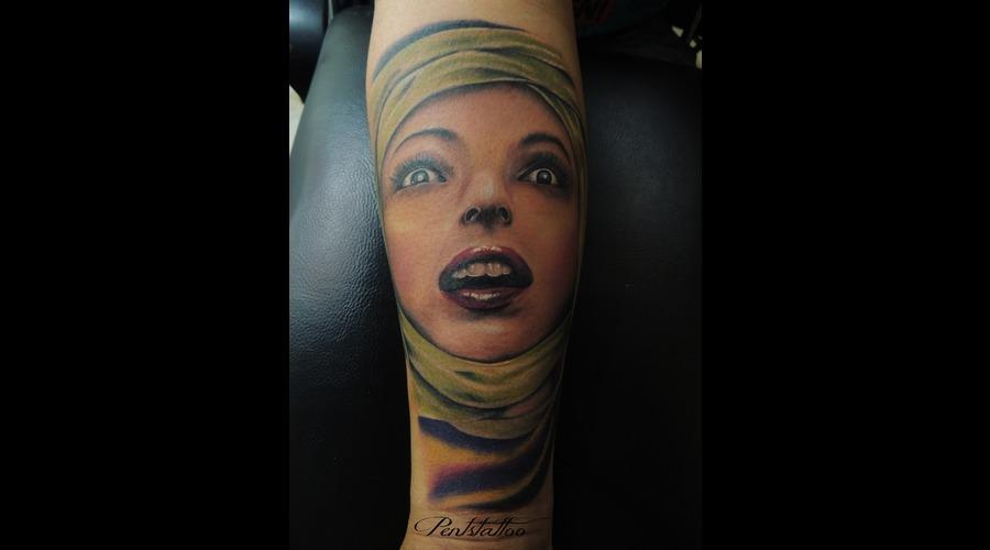 Mummy  Woman Color