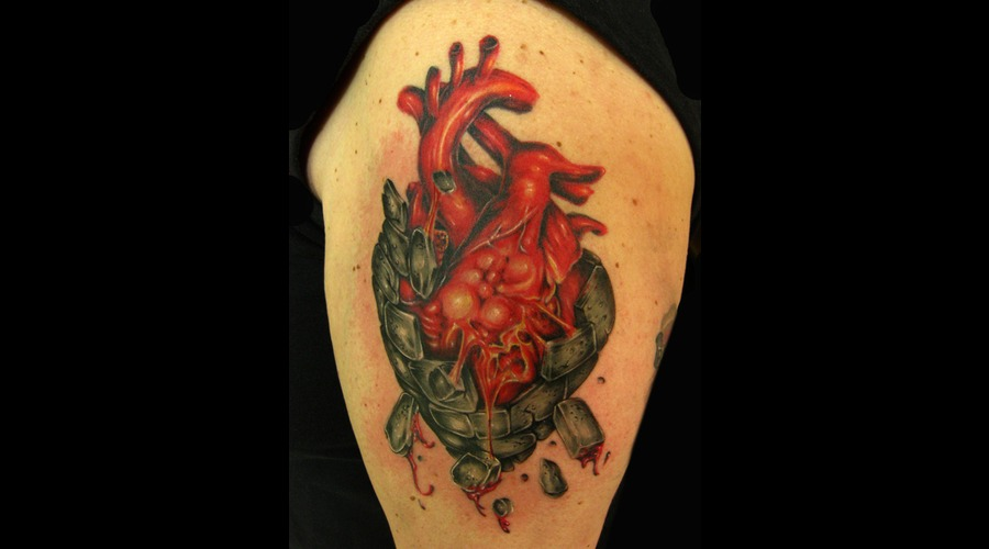 Human Heart  Color  Blood  Stone  Realistic Color