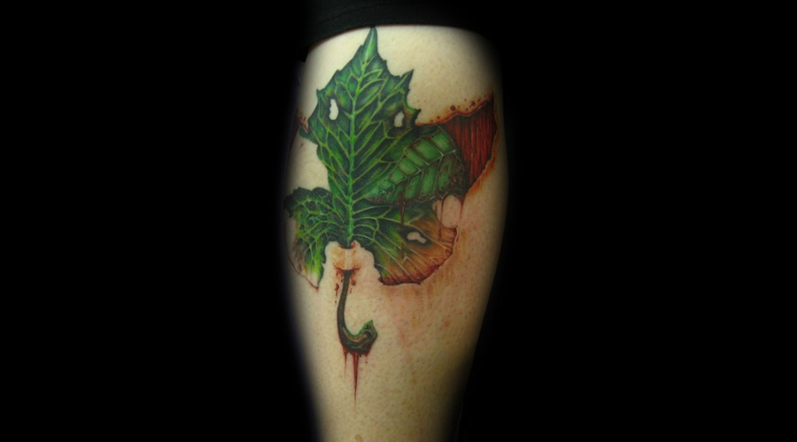 Leaf  Color  Skin  Rip  Blood  Realistic  Muscle Color
