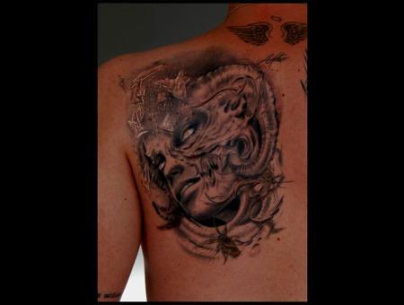 Storm Tattoo   Adem Sanli Black White