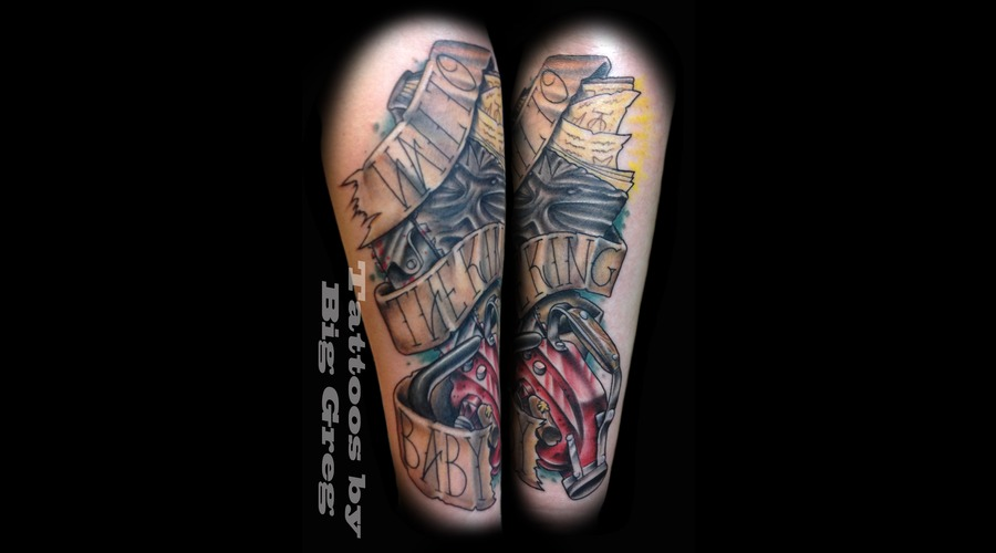 New School  Evil Dead  Army Of Darkness  Bruce Campbell  Chainsaw  Quotes Color Forearm