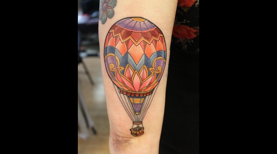 Hot Air Balloon  Color