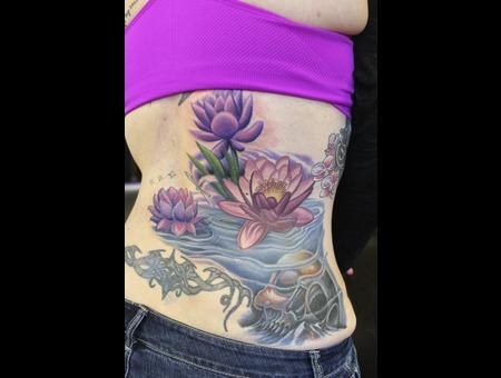 Lotus Flower  Water Color