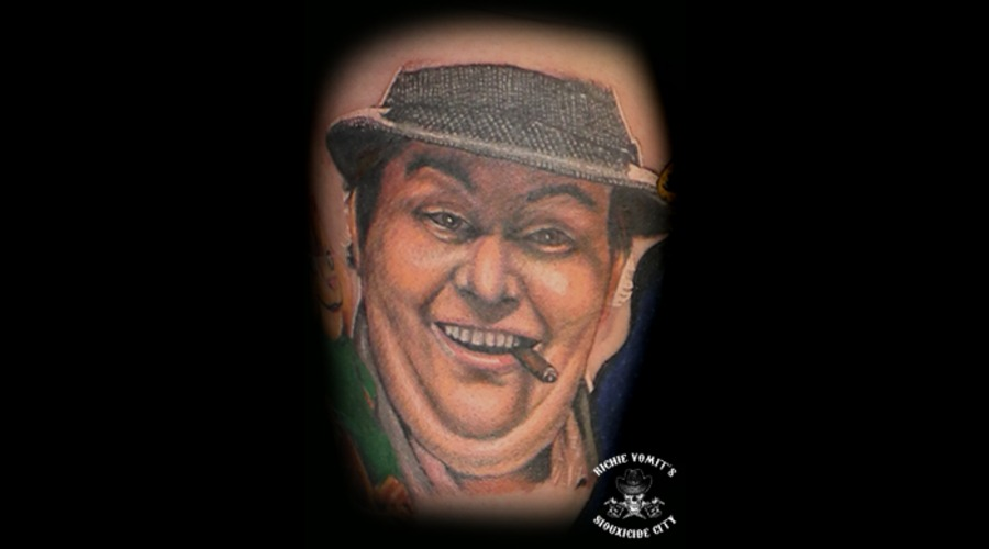 John Candy  Color Lower Leg