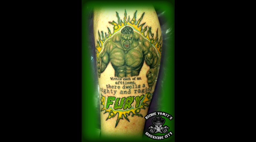 Hulk  Color Lower Leg