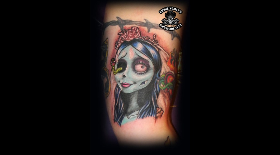 Corpse Bride Color Arm