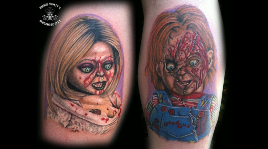 Chucky And Tiff Color Lower Leg