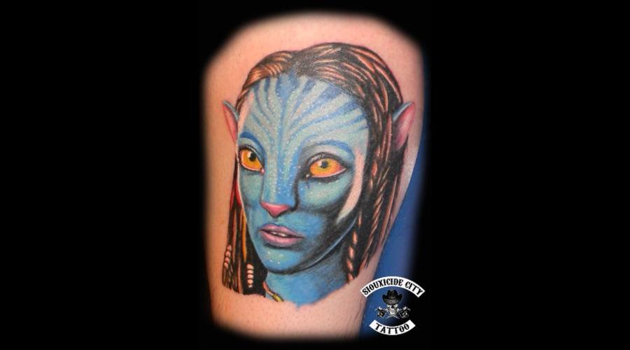 Avatar  Color Lower Leg