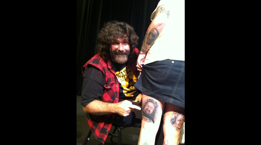 Mick Foley  Black Grey
