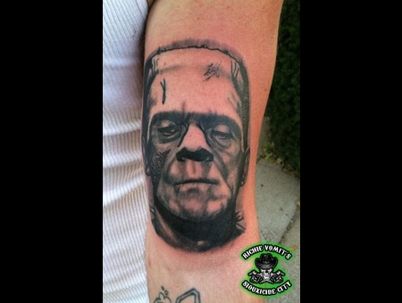 Black Grey Arm