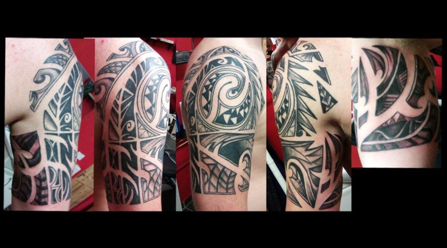 Maori Black Grey