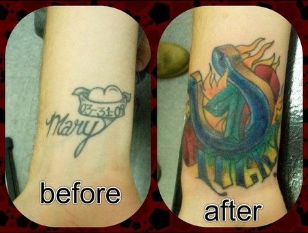 Cover Up  Arm  Forearm  Lucky Color