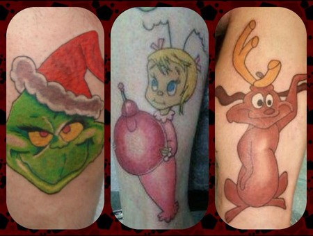 Holiday  Grinch  Character  Christmas  Arm  Leg Color