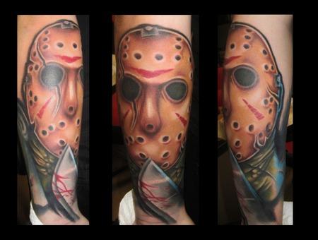 Jason  Vorhees  Portrait   Color