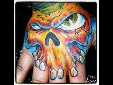 Hand  Color  Color Bomb  Eye  Bright  Teeth  New School Color