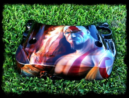 Airbrush  God Of War  Paint  Fire Color
