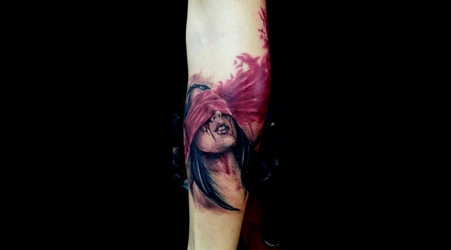 Sierra Leone    Tattoo By Raul  Open Mind Tattoo Black White