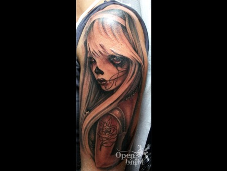 Tattoo By Raul  Open Mind Tattoo Color