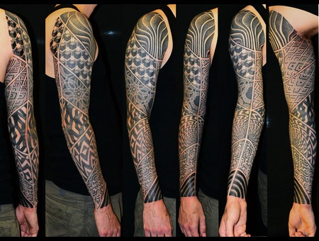 Sleeve Black White
