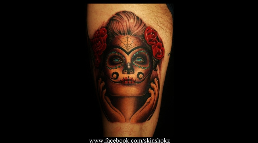 Portrait Day Of The Dead  Color