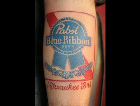 Pabst  Beer Label Color