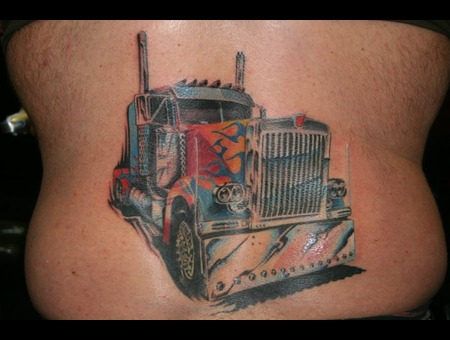 Optimus Prime Color