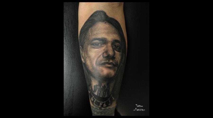 Filip Leu  Portrait Black Grey