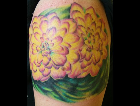 Cover Up  Dahlia  Flowers Color