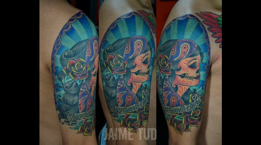 Neotraditional Color Arm
