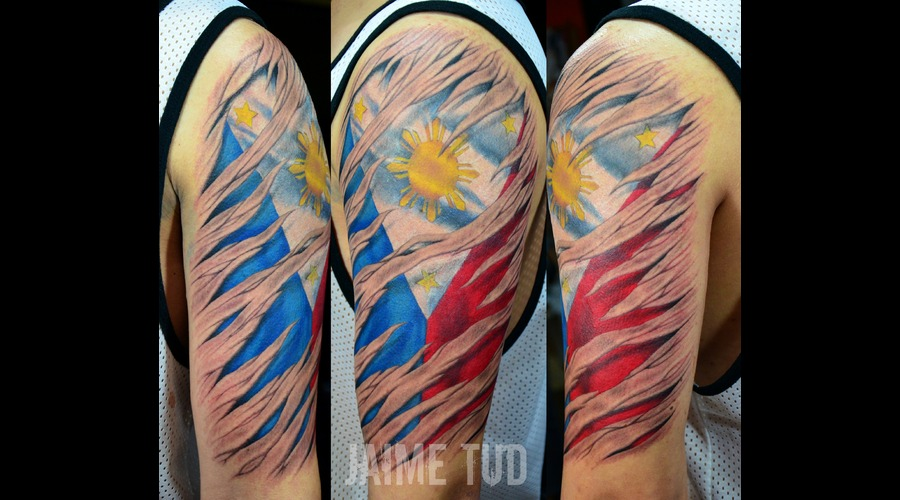 Flag  Skinrip Arm
