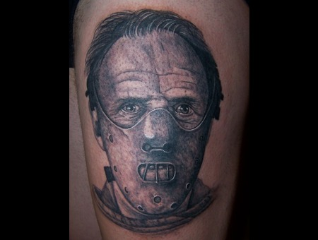 Hannibal Lecter  Portrait   Croatia  Zagreb  Marin  Urbanc Thigh