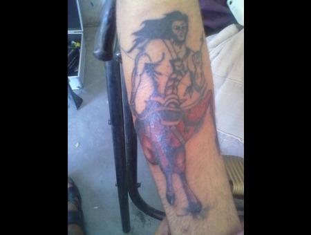 Sagittarius Tattoo  Color