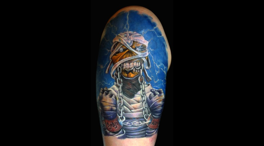 Iron Maiden Color Arm