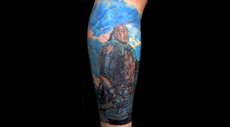 Warrior Color Lower Leg