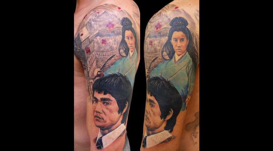 Bruce Lee Color Arm