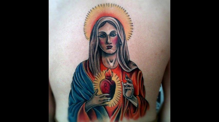 Healed  On Lower Back Color