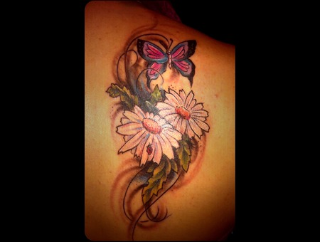 Coverup  Butterfly Color Back