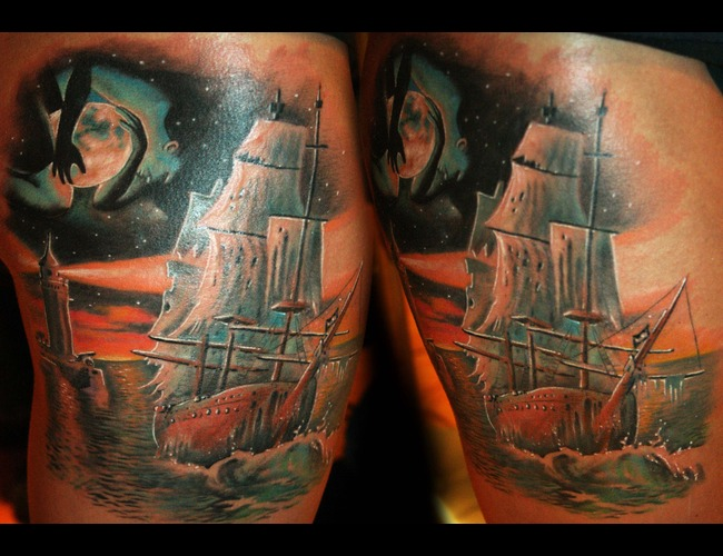 Lighthouse Surreal 