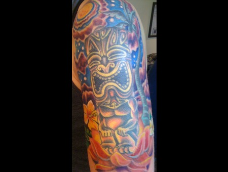Tiki  Half Sleeve Color