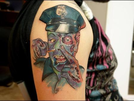 Cop  Drug  Zombie Color