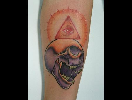 Skull  Eye Color
