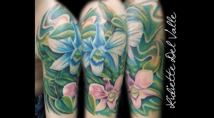 Flower  Orchid Color Arm