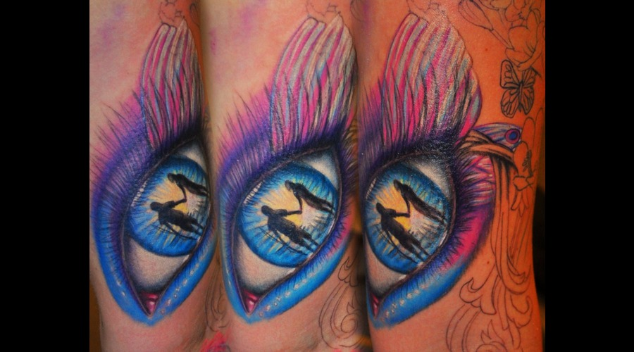 Eye  Color  Realism  Reflection  Inner Arm Tattoo Color
