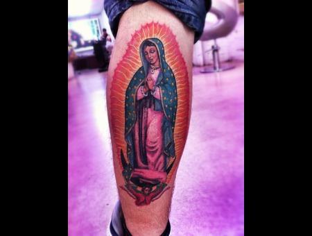 Guadalupe  Visgin  Religious   Color