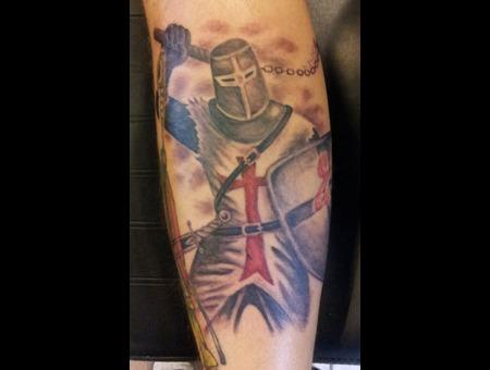 Knight  Templar Black Grey