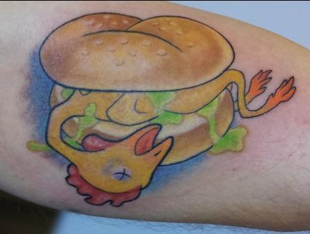 Rubber  Chicken  Sandwich Color