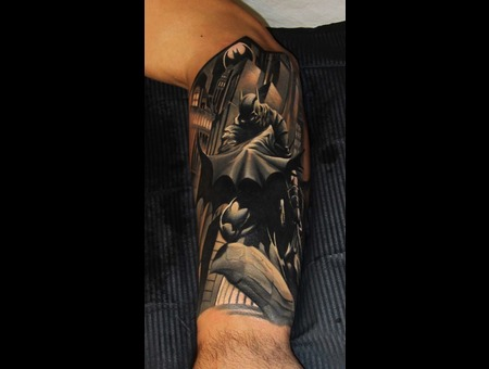 Batman Black Grey