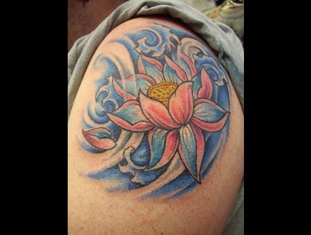 Arm Tattoo Color